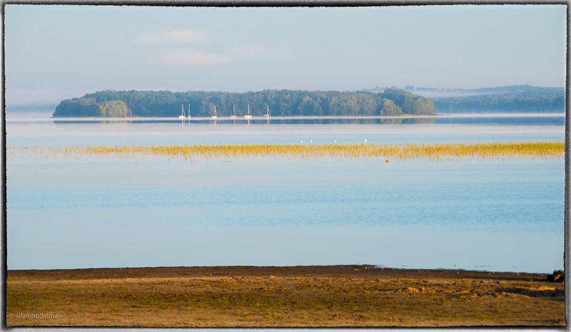 Sailboats at Mohr Island