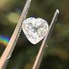 1.06ct Antique Heart Diamond GIA H SI1 10