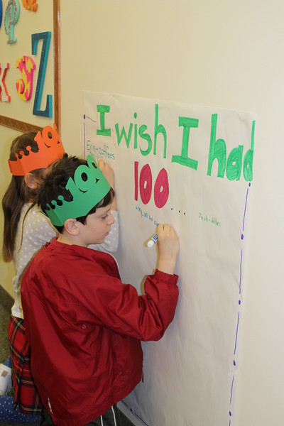 Lower School 100th Day of School Celebration