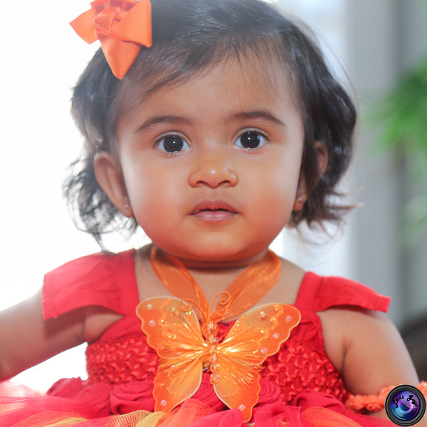 Sahana First Birthday
