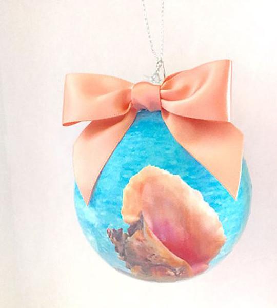 Swimming Pig Ornaments