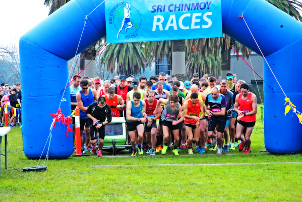 Sri Chinmoy Albert Park Half-Marathon, 10km & 5km, 19th June 2016