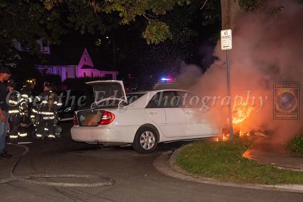 Uniondale Car Fire 09/15/2021
