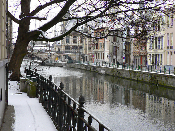 Belgium - Winter's Silence in Gent