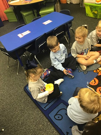 PreK4 Pumpkin  Disection