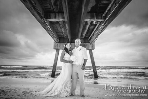 Coffey Wedding | Angler'sBeachside Grill | Fort Walton Beach Wedding Photographers