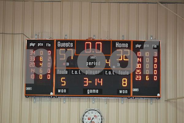 Varsity-Odessa vs Oak Grove 1-20-09
