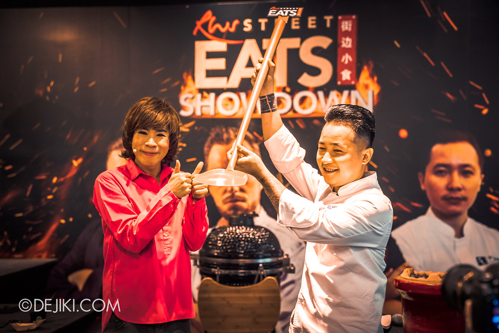 Resorts World Sentosa - RWS Street Eats Showdown - Chef Steven Long wins the showdown