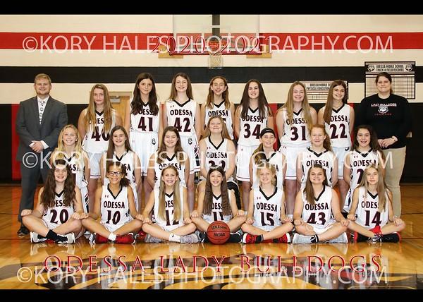 2020-2021 OMS Girls Basketball