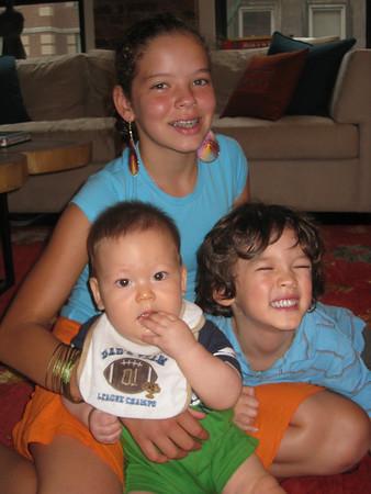 Dylan & Skylar--August 2010