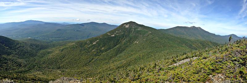 Flume and Liberty by Flume Slide Trail (September 17)