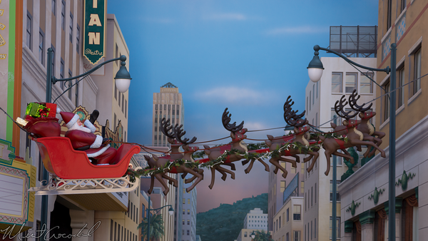 Disneyland Resort, Disney California Adventure, Hollywood Land, Christmas Time, Christmas