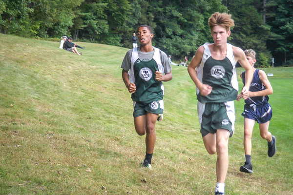 Varsity and JV Cross Country Race at Holderness School