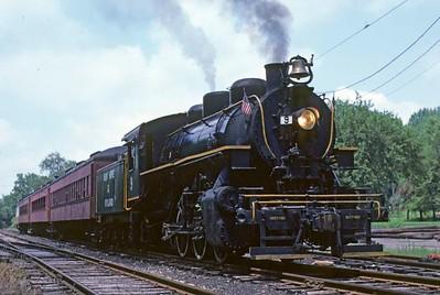 Pennsylvania: New Hope & Ivyland Railroad, 1978 & 2010