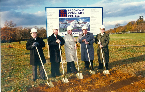 Larrison Hall Ground Breaking 1996