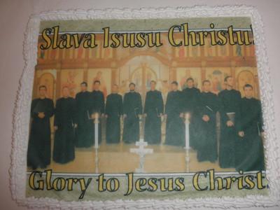 Ukrainian Seminarian Choir visit - Fall 2011