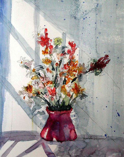 FLOWERS IN SUNLIGHT
