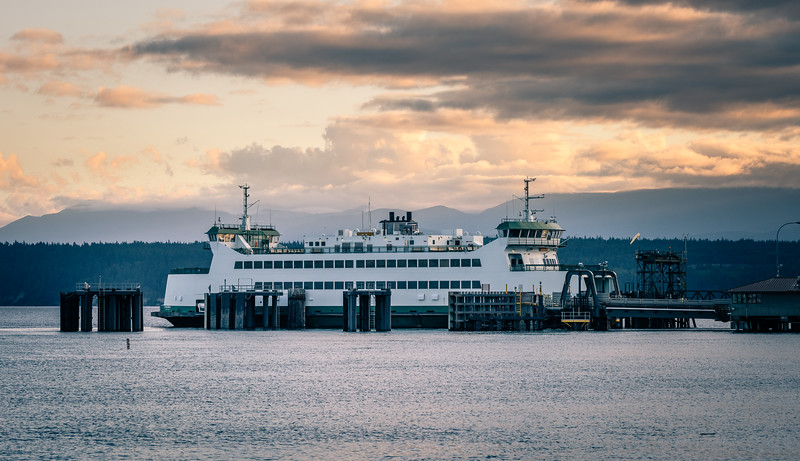 Washington State Ferry, Port Townsend, Wash.