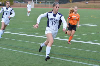 2013.11.02 Medway HS Girls Soccer Playoffs