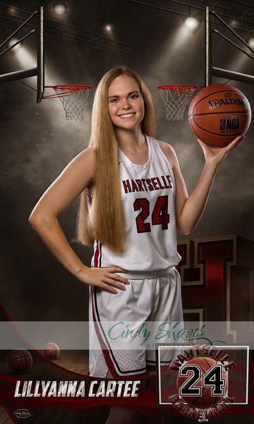 Hartselle High Basketball 2020 PROOFS