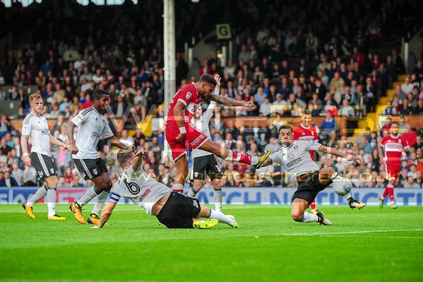Fulham v Middlesbrough 23 - 09 - 17