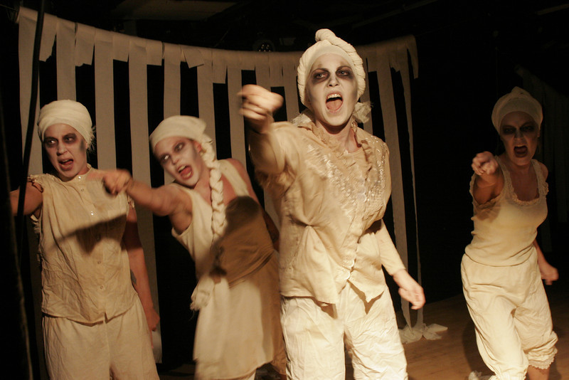 """""""Shakespeare Eksperimentet,"""" theater act by Circonflex, Vildskud Festival 2014 Copenhagen"""