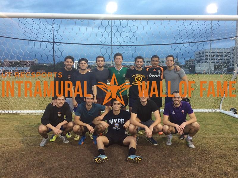 7v7 Fall 2017 Soccer Men's A Champion Wazinha F.C.