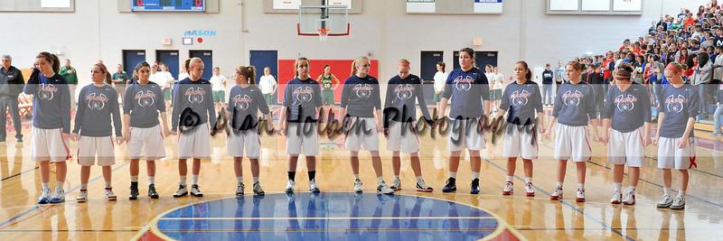 Girls Varsity Basketball - Lumen Christi at Mason - Feb 18