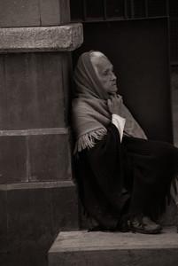 A la espera I - Waiting. Mexico City.