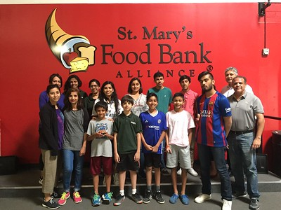 PICO - April 2017 Volunteering @ St Mary's Food Bank