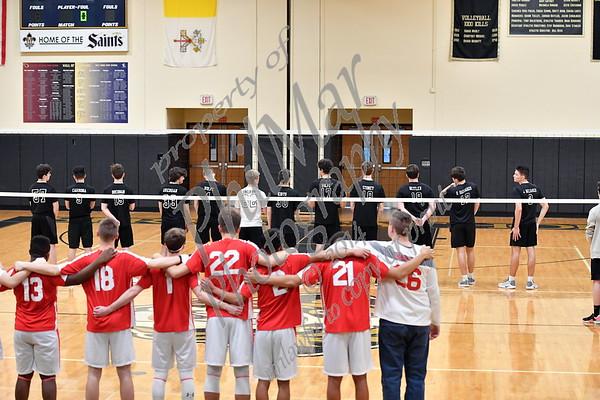 Berks Catholic vs Fleetwood Boys Volleyball 2017 - 2018
