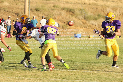 September 18th, 2014 8th Grade Football Bayfield Wolverines vs Cortez Panthers