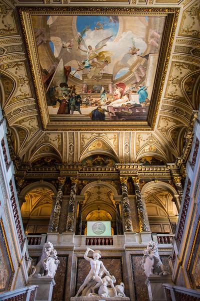 Ceiling art, Kunsthistorisches Museum, Vienna