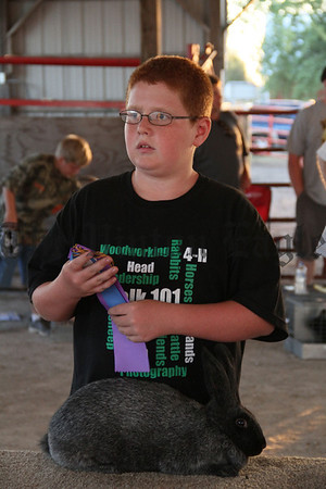 2012 Benton Co. Fair - Rabbits-Open Class