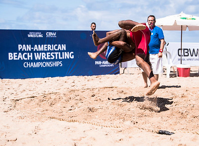 2017 Pan/Ams Beach Wrestling