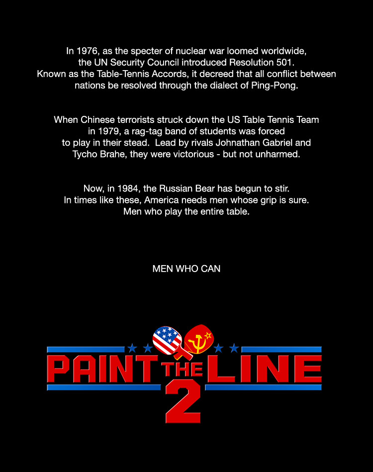 Paint The Line, Opening Crawl