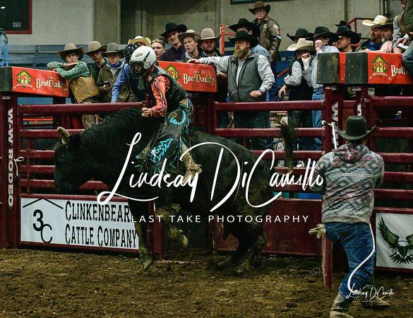 PFI Bull Riding Springfield Mo. Friday Feb. 26th 2021