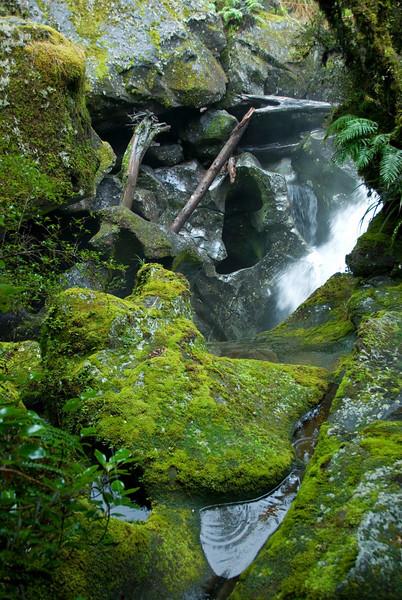 Waterfall - Milford Sound,NZ