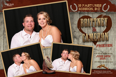 Brittany and Cameron - Wedding