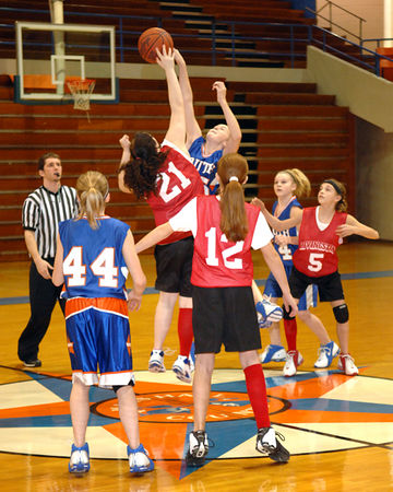 5th&6th Grade Girls Basketball - South Marshall vs. Livingston County - March 4, 2006.  Livingston won 43- 24