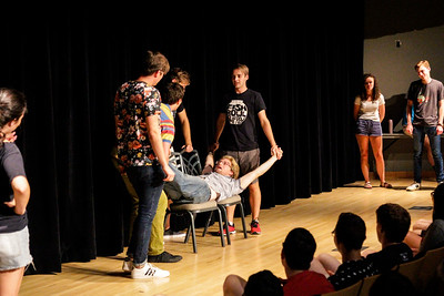 2018 Fishbowl Improv Welcome Week Show