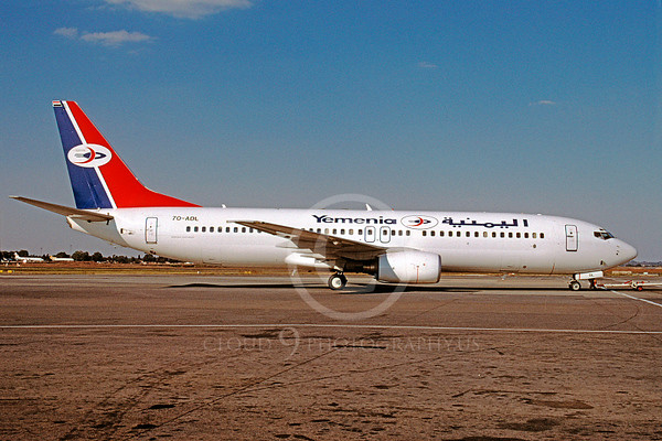 Yemenia Airline Boeing 737 Airliner Pictures