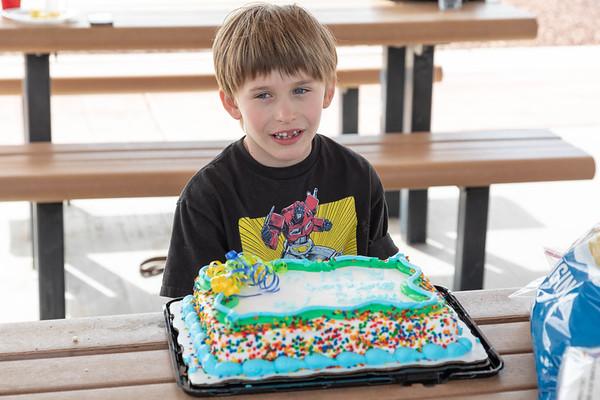 Alan turns 7