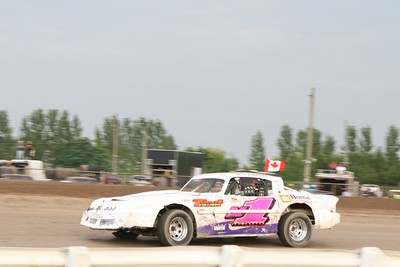 DIRT Big Block Modifieds, Merrittville Speedway, Thorold, ON, August 4, 2008