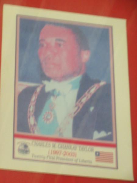028_Monrovia. The Centennial Building. The infamous Charles Taylor. Liberia President 1997-2003.JPG