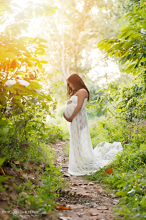 Great Falls, Virgina,  Maternity Sunset Portraits, Epic Shutter Photography