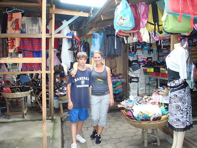 Megan and Christian in Nicaragua