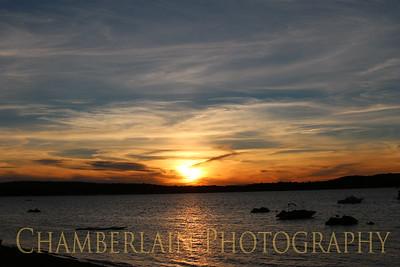 Sunsets -  Malletts Bay