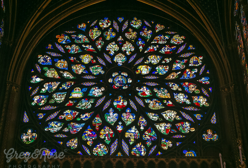 Rose Window of La Chapelle