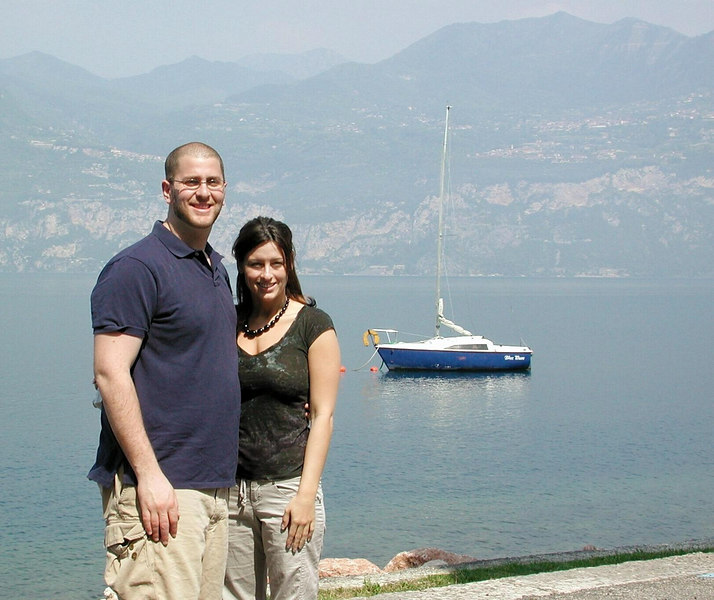 Craig & Gina, Brenzone, Lake Garda / Karen Perrin Photo